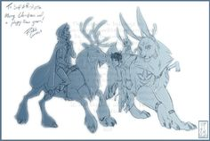 Winter prince meets Jokul Frosti and Dark Pooka