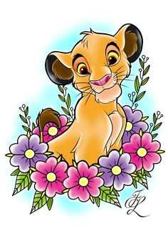 Did this design for a lovely customer who wants a disney sleeve Simba Roi Lion Simba, Lion King Simba, Le Roi Lion Disney, Disney Lion King, Lion King Drawings, Lion King Art, Arte Disney, Disney Art, King Picture