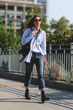 Black booties season, yessss. #refinery29 http://www.refinery29.com/2016/09/120553/nyfw-spring-2017-best-street-style-outfits#slide-34