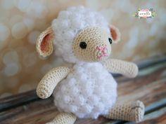 Little Crochet Lamb