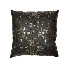 Gold Aztec Lace on Black