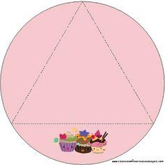 Cupcakes Fofinhos – Kit Completo com molduras para convites, rótulos para guloseimas, lembrancinhas e imagens! |Fazendo a Nossa Festa Party Sweets, Kids Rugs, Home Decor, Cupcakes, Awesome, Sweet Like Candy, Diy Home, Softies, Moldings