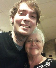 grandson in law  EVAN Butler and his own grandmother.