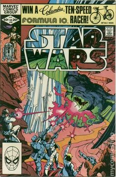 January 1982 Star Wars Marvel Comic Book - Rare & Hard to Find - Vintage Star Wars Comic Books, Best Comic Books, Star Wars Comics, Marvel Comic Books, Star Wars Art, Clone Wars, Darth Vader, Dc Movies, Marvel Series