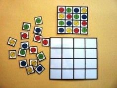 Would love to try this for our math Preschool Learning Activities, Teaching Math, Preschool Activities, Kids Learning, Visual Perceptual Activities, Material Didático, Learning Numbers, Creative Teaching, Worksheets For Kids