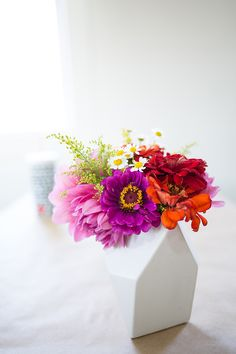 Seed Floral Geometric arrangements