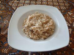 Italia-Euskadi. Risotto de hongos con queso de Idiazabal
