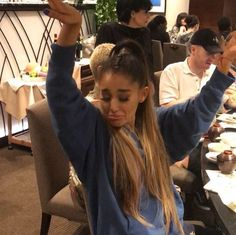 Love her ♡ Ariana Grande in South Korea Ariana Grande Fotos, Ariana Grande Meme, Ariana Grande Pictures, Bae, Light Of My Life, Dangerous Woman, Forever, Meme Faces, Reaction Pictures