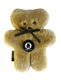 The classic FlatOut bear, made from Sheepskin and with a huge fan base, makes the perfect teddy bear for any child. Australian Icons, Bear Shop, Honey Bear, Best Kids Toys, Kids Corner, Baby Safe, Baby Toys, Just In Case, Gifts For Kids
