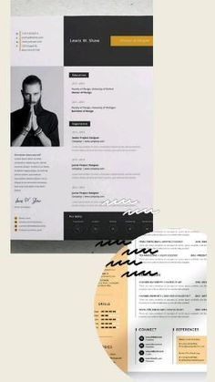 This Gig is the offer for you if you need your resume or cv visually more professional look and attractive to your hiring manager. Eye-catching CV Design Reasonable price Delivery within time Delivery short time I have a wonderful experience in creative graphics designing Utmost Client's privacy assurance Money-back guarantee if not satisfied with work but I bet you will..#cv#cvresume#professionalcv#professionalresume#resumedesign#cvdesign#infographic#resumetemplate#cvtempla Best Resume Template, Resume Design Template, Cv Template, Graphic Design Resume, Cv Design, Page Design, Cv Maker, Infographic Resume, Professional Cv