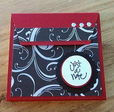 sticky note holder