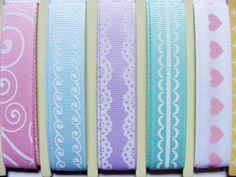 Beautiful set of ribbon