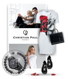 """Christian Paul - Sydney - Sponsored Contest"" by christiana40 ❤ liked on Polyvore featuring McQ by Alexander McQueen, Yves Saint Laurent and Givenchy"