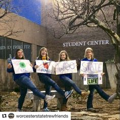#Repost @worcesterstatetrewfriends  We hope everyone did great on their finals and finished the semester strong! We had a great time at all of our events this past semester and we can't wait to register even more people next semester! Have a good break and happy holidays!!