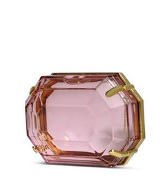 Charlotte Olympia Pink Transparent Clutch