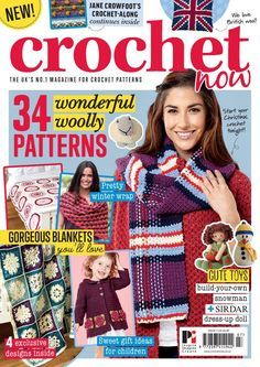 Crochet now magazine issue 7 2016 by Maika Sadith - issuu Crochet Shrug Pattern, Crochet Chart, Crochet Stitches, Free Crochet, Crochet Patterns, Knitting Patterns, Knit And Crochet Now, Simply Crochet, Magazine Crochet