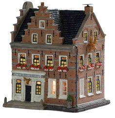 In ieder dorp kan een apotheek natuurlijk niet ontbreken. Zo ook in Dickens ville!