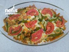 Çıtır Kahvaltılık Turkish Recipes, Ethnic Recipes, Turkish Kitchen, Homemade Beauty Products, Ratatouille, Pie Recipes, I Foods, Vegetable Pizza, Guacamole