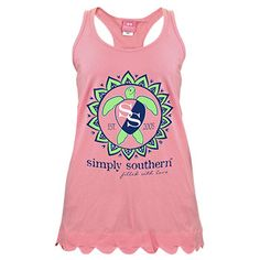 9b3c8d4adbeb3 Simply Southern Tank Top Cotton Pre-ShrunkTank Top Size Is Based On Adult  Unisex SizingScreen print graphicsLightweight ribbed Tank