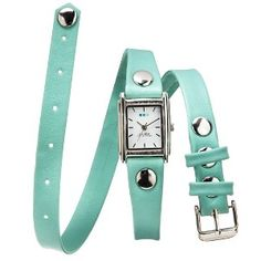 La Mer Watch With Simple Wrap - Mint Green : Target Mobile $40 cute but not my top choice.