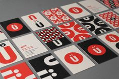 Here is an amazing identity by TRÜF, a studio based in Santa Monica. They designed lot of beautiful branding, but my favorite one is their own branding. Examples Of Business Cards, Cool Business Cards, Business Card Design, Creative Business, Brand Identity Design, Corporate Design, Branding Design, Logo Design, Retail Design