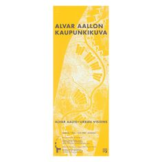 The Alvar Aalto – Urban Visions exhibition poster shows the Alvar Aalto-designed master plan for Imatra, Finland, with its residential areas, sports fields and main thoroughfares. Chinese Architecture, Modern Architecture House, Futuristic Architecture, Modern Houses, Zaha Hadid Architects, Santiago Calatrava, Poster Series, Alvar Aalto, Exhibition Poster