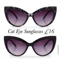 Cat Eye Sunglasses £16