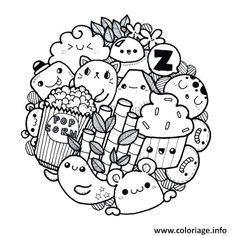 Pin by sharmaine malado on doodle art pequeños dibujos, cari Doodle Monster, Monster Drawing, Cute Doodle Art, Doodle Art Designs, Doodle Art Drawing, Doodle Sketch, Kawaii Doodles, Cute Doodles, Doodle Coloring