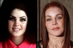 Aging Celebrities Now and Then | Priscilla Presley Then and Now