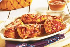 Barbecue Chicken Picante (4 Points+ Per Serving)