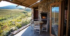 A romantic mountain lodge in the tranquil mountains of the Overberg, South Africa Eco Cabin, Weekends Away, Holiday Destinations, Weekend Getaways, Beautiful Landscapes, Cabins, South Africa, Southern, Traveling