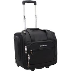 Ciao Rolling Carry On Under Seat Rolling Bag - Black.  Need this ASAP.