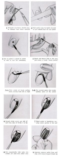 How to Give Yourself a 1940s Manicure