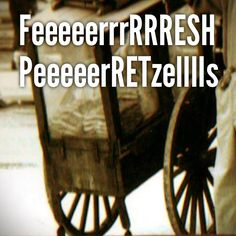 Picture of an old pretzel cart - takes me right back to my South Philly schoolyard...