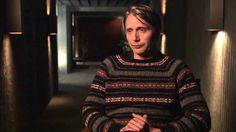 "Hannibal: Mads Mikkelsen ""Dr. Hannibal Lecter"" Season 2 Premiere On Set Interview Part 2 of 2"