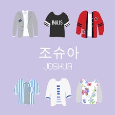 The Shirts of Seventeen •Joshua• cr. vernonchewy