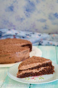 Torta con crema al caffè e cioccolato Tiramisu, Yummy Food, Cookies, Ethnic Recipes, Desserts, Crack Crackers, Tailgate Desserts, Deserts, Delicious Food