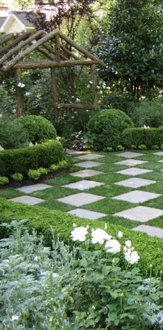 Checkmate in the garden
