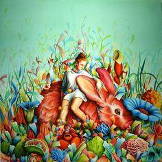 Artistaday.com : Warsaw, Poland artist Ewa Pronczuk-Kuziak via @artistaday:
