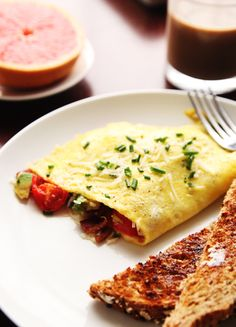 Detailed step-by-step photo guide on How to Make Omelettes
