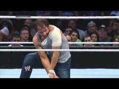Dean Ambrose vs Randy Orton : Smackdown,2014 (Full Match) Reigns saves A... (SIEMPRE HERMANOS <3 )