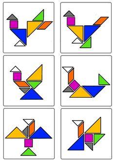 * Tangram - Oiseaux 3-3