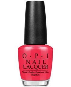 Opi Nail Lacquer, Opi Red - OPI Red