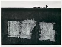 Uruapan 1955 Aaron Siskind (American, Gelatin silver print 14 x 19 in. x cm) Art History Timeline, Aaron Siskind, Library Art, Found Art, History Of Photography, Abstract Photography, White Photography, Art Database, Art Institute Of Chicago