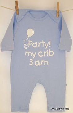So cute to wear (or make and photograph for B'day Party saying at my crib)