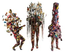 Black Future Month: Nick Cave      Nick Cave is an American fabric sculptor, dancer, and performance artist. He is best known for his Soundsuits: wearable fabric sculptures that are bright, whimsical, and other-worldly. He also trained as a dancer with Alvin Ailey. He resides in Chicago and is director of the graduate fashion program at School of the Art Institute of Chicago.