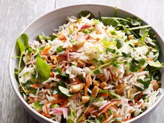 Get this all-star, easy-to-follow Lemon-Herb Rice Salad recipe from Food Network Kitchen