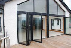 Aluminium Sliding Folding Patio Door