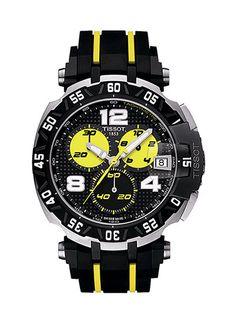 Tissot Men's T-Race Thomas Luthi Swiss Quartz Sport Watch, Motogp, Sport Watches, Cool Watches, Amazing Watches, Beautiful Watches, Tissot T Race, Le Locle, Nicky Hayden, Swiss Army Watches