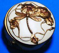 Art Nouveau - Dragonfly Jewelry Box